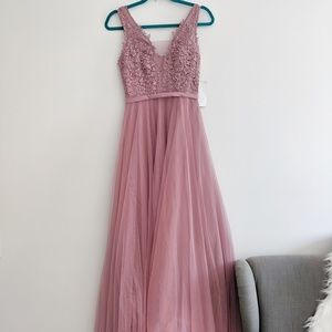 ASOS Little Mistress dress with tulle skirt, NWT!